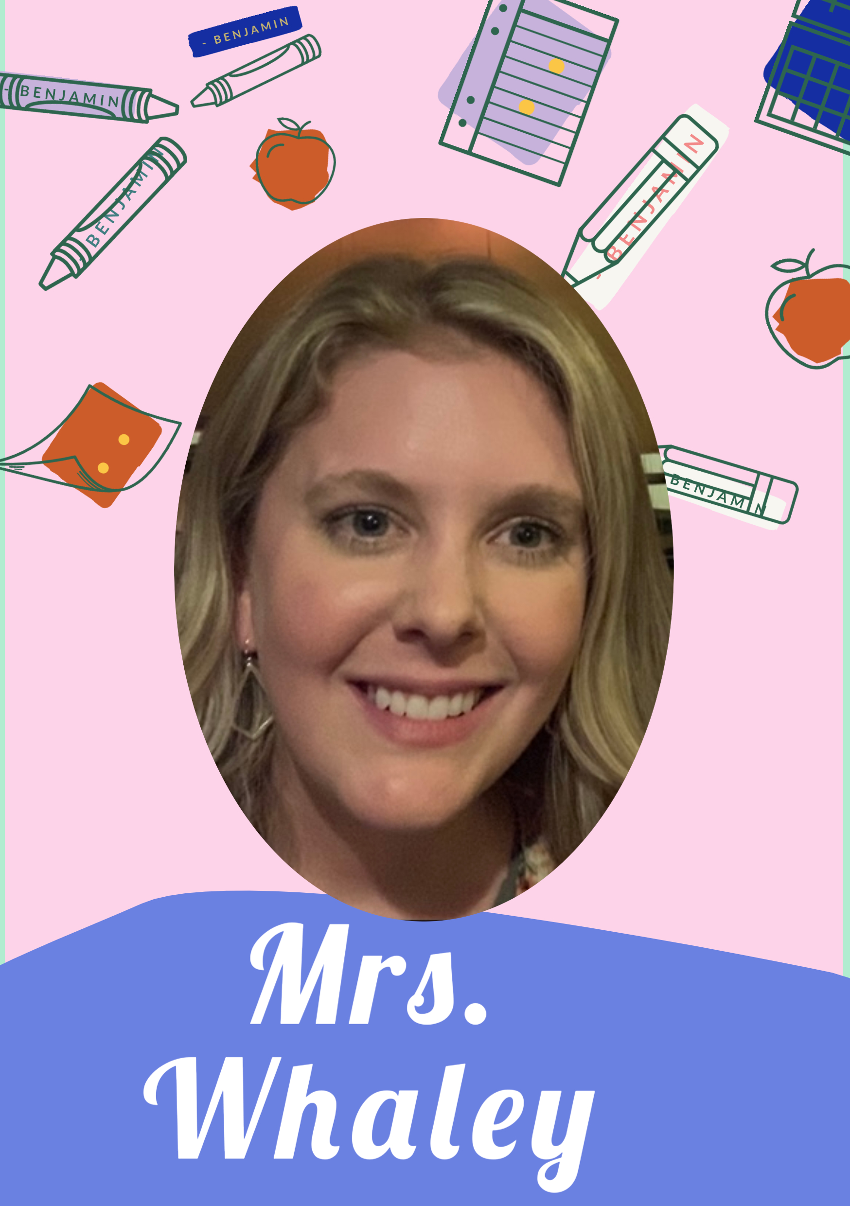 Mrs. Sapphire Whaley is one of our speech therapists.