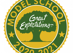 The Great Expectations Model School Badge for website